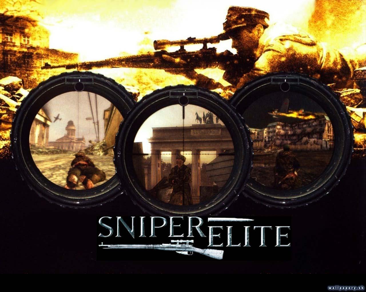 بازی Sniper Elite 1 برای PC