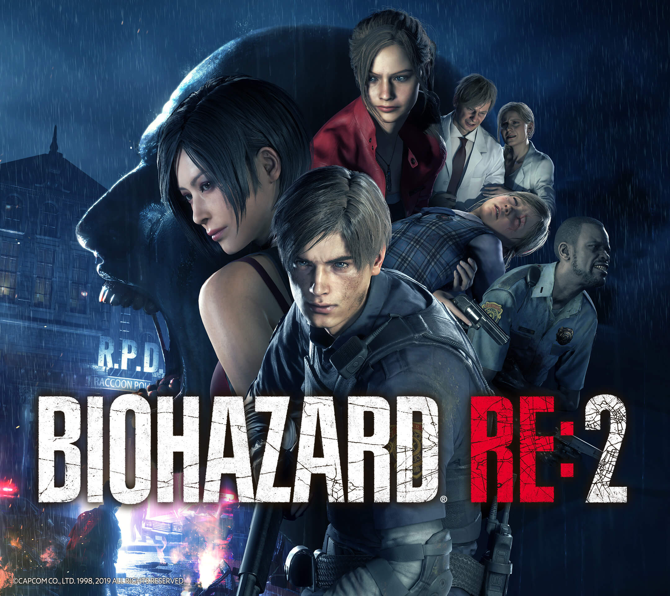 RESIDENT EVIL 2 / BIOHAZARD