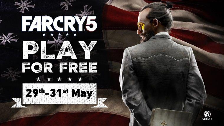 Far Cry 5 Uplay'de Haftasonu Ücretsiz Olacak!